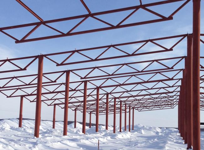 Зернохранилище в Самарской области