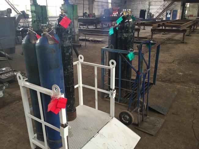 Кассеты для транспортировки газов