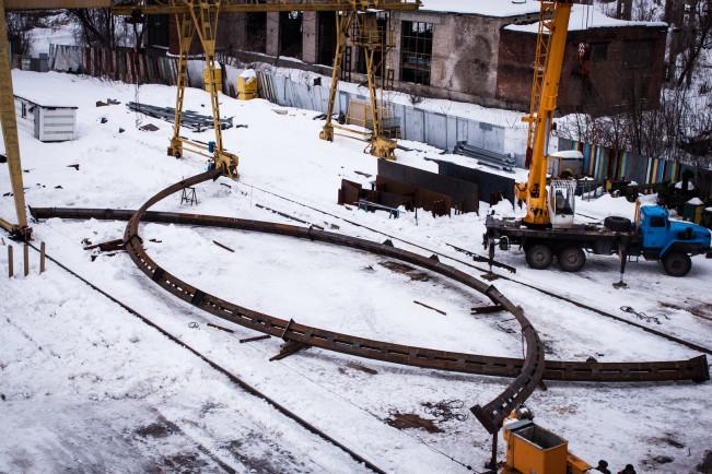 Длина конструкций 33 метра