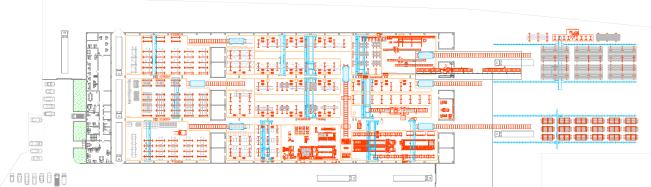 Подробная схема завода металлоконструкций Аполло