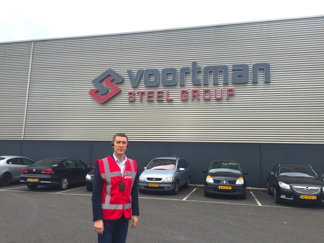 Посещение Voortmann Steel Group