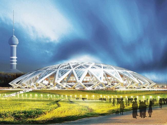 Стадион Самара ЧМ 2018