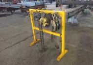 Стэнд для хранения грузозахватных приспособлений для строительных металлоконструкций