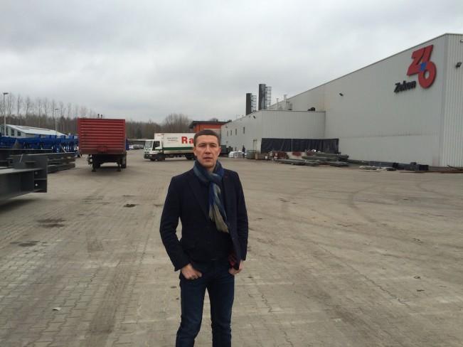 Посещение завода металлоконструкций ZEBAU Польша.