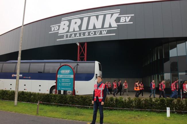 Посещение завода металлоконструкций BRINK, Голландия.