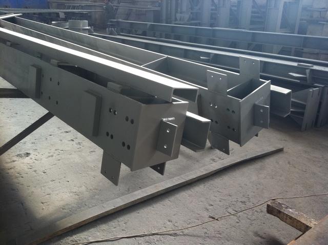 Колонны производственного здания