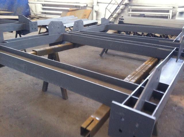 Изготовлены и отгружены металлоконструкции эстакады для внутриплощадочных тепловых сетей.