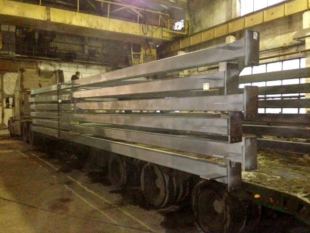 металлоконструкции ЗМК Аполло для здания склада