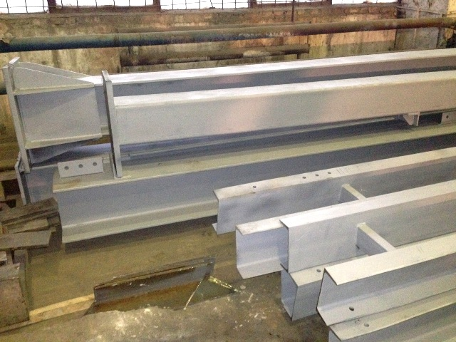 Металлоконструкции для строительства здания склада