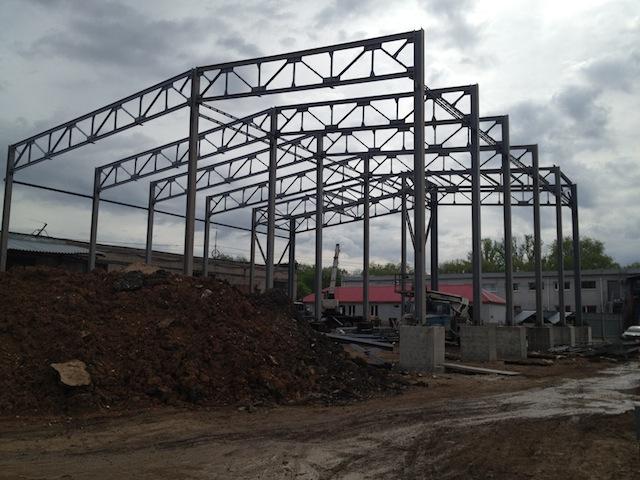 Завершено строительство складского комплекса.