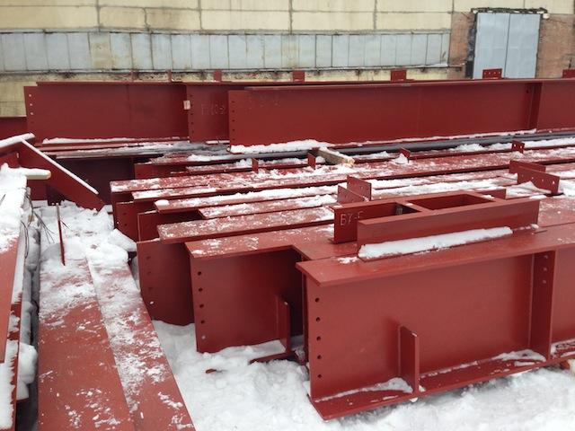 Покрытие - грунт ГФ-021 красно-коричневого цвета