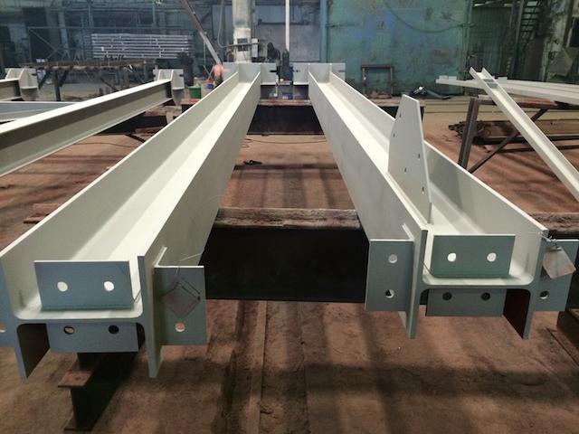 Фахверковые колонны для производственного здания