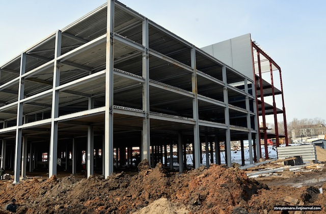Металлоконструкции Торговый Центр Гудок г. Самара