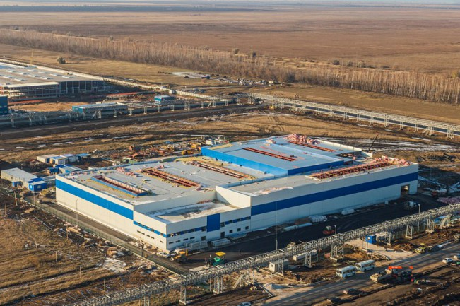 Металлоконструкции завода «СИЕ АУТОМОТИВ РУС»
