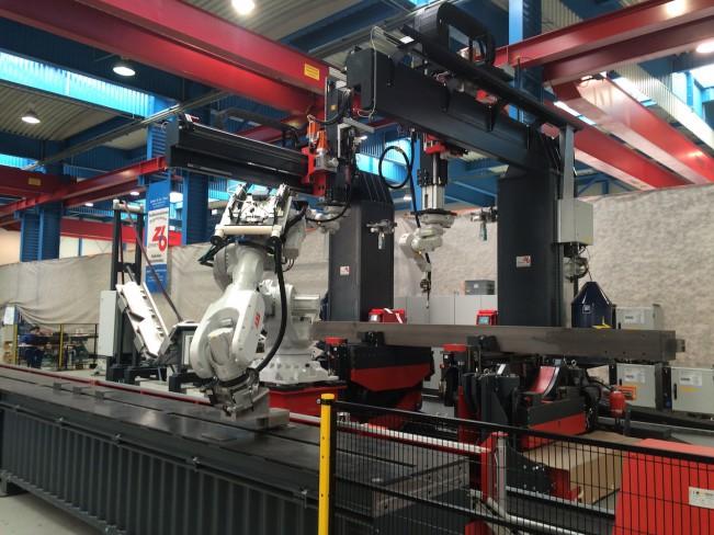 Компактная версия робота SBA, ZEMAN, Австрия