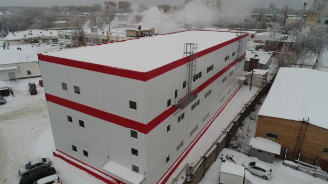 Здание введено в эксплуатацию