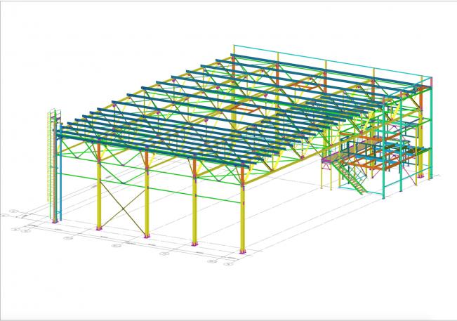 Зд модель здания