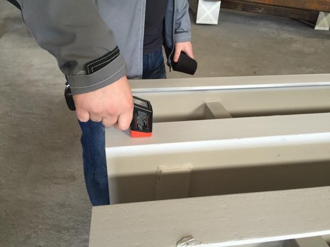 Контроль толщины лакокрасочного покрытия