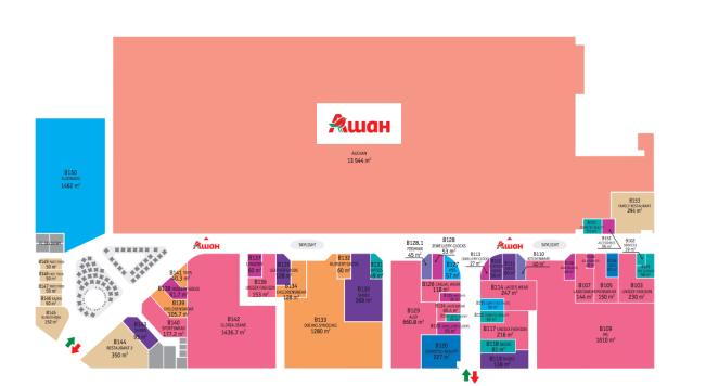План торгового центра