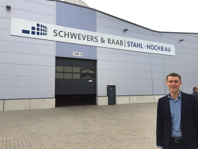 Посещение завода SCHWEVERS & RAAB. Германия