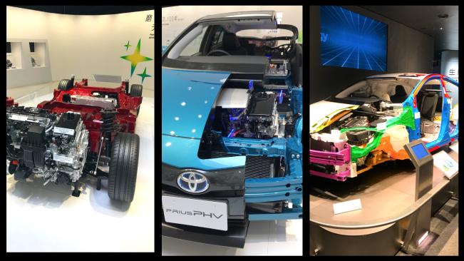 Выставочный зал современных и будущих автомобилей ТОЙОТА