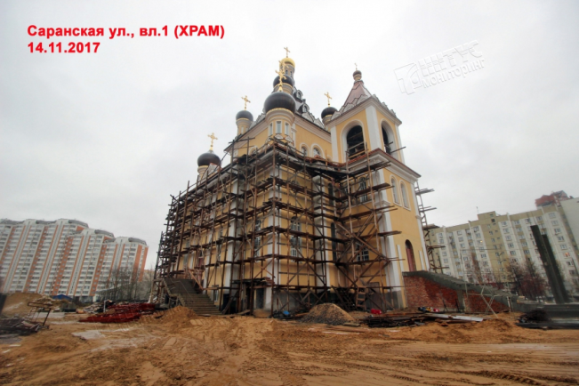Храм сретения господня, г. Москва