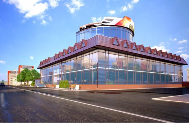 Офисное здание. г. Уральск. Казахстан.