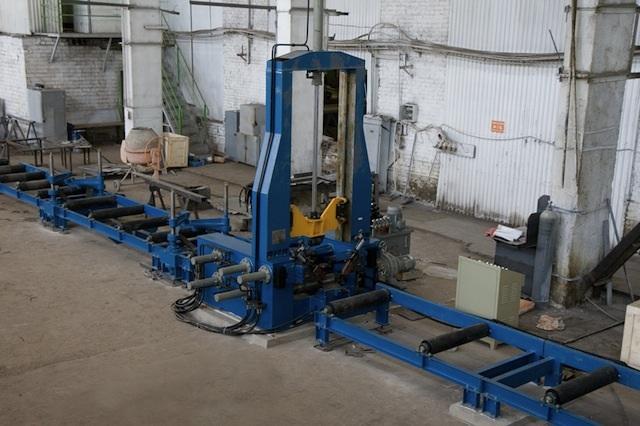 Запуск линии по производству сварной балки.