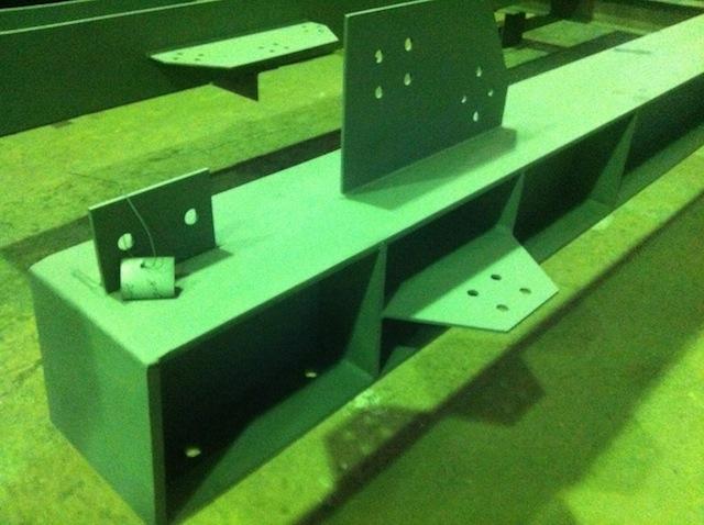 Металлоконструкции для зданий цементного завод в Тольятти.