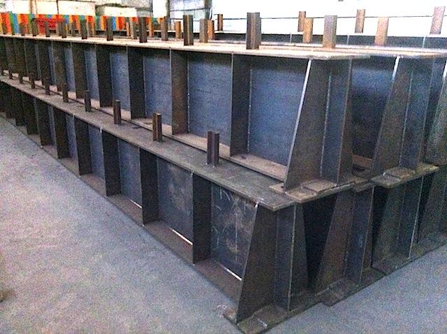 Изготовлены и отгружены металлоконструкции из сварной балки.