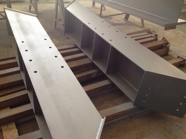 Продолжаются отгрузки металлоконструкций на цементный завод в г. Тольятти.