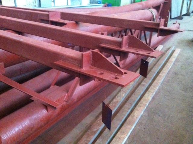 Покрытие -грунт ГФ-021 коричневого цвета