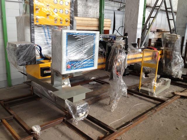 Оборудование готовится к установке