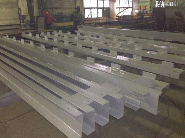 Металлоконструкции для строительства объекта в Московской области
