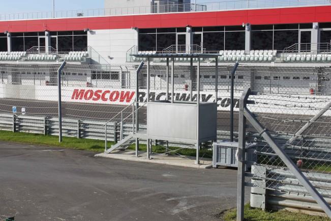 Металлоконструкции для Moscow Raceway