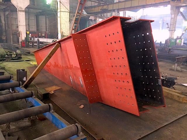 Стоимость металлоконструкции за тонну - от 55 000 руб.