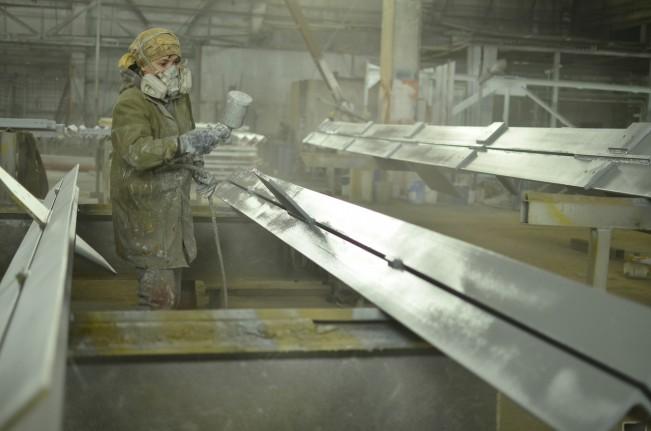 Покраска строительных металлоконструкций