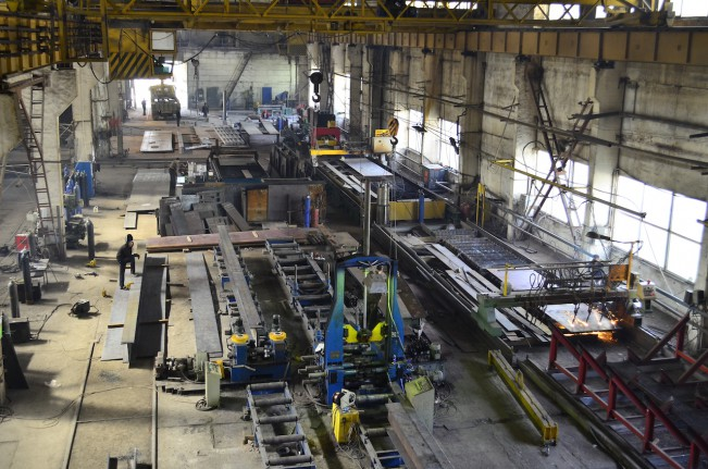1 пролет Завода металлоконструкций Аполло