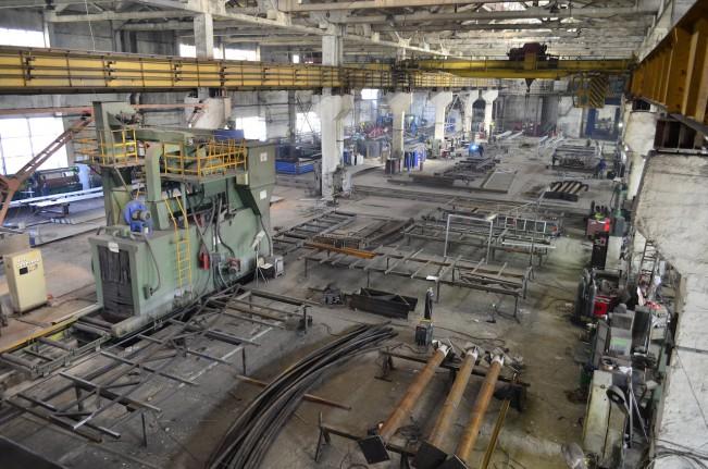 2 пролет Завода металлоконструкций Аполло