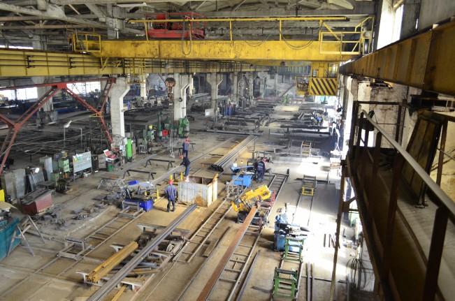 3 пролет Завода металлоконструкций Аполло