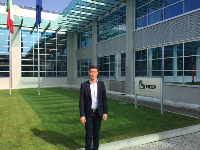 Посещения завода FICEP, Италия