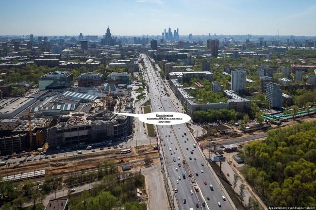 ТЦ «Метрополис» 2-ая очередь, Москва, 380 тонн.